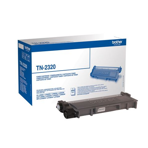 Original Toner BROTHER TN-2320, 2.600 Seiten, OVP