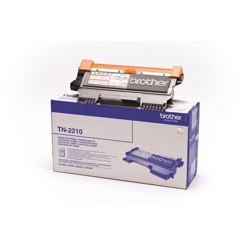 Original Toner BROTHER TN-2210, 1.200 Seiten, OVP