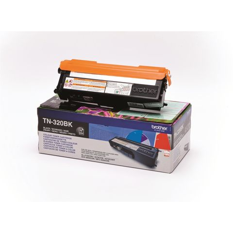 Original Toner BROTHER TN-320BK , BK OVP