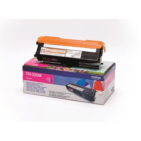 Original Toner BROTHER TN-320M, 1.500 Seiten, OVP