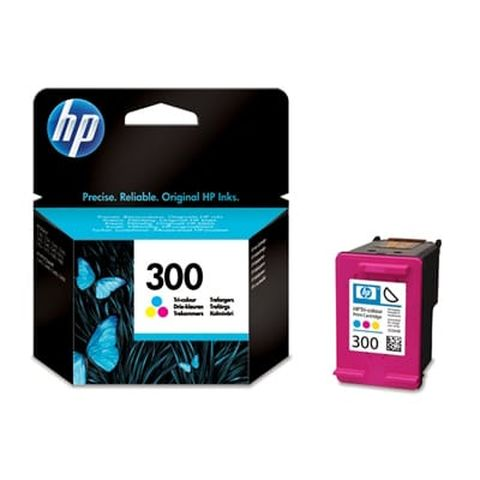 Original Druckerpatrone HP 300, CC643EE Color, 4 ml, OVP