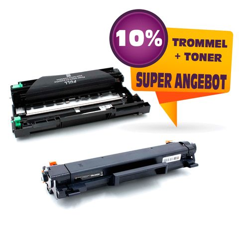 Kompatibel Sparset zu BROTHER DR2400 +TN2420 (Trommel + Toner)