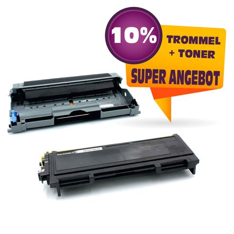 Kompatibel Sparset zu BROTHER DR2005 +TN2005 (Trommel + Toner)